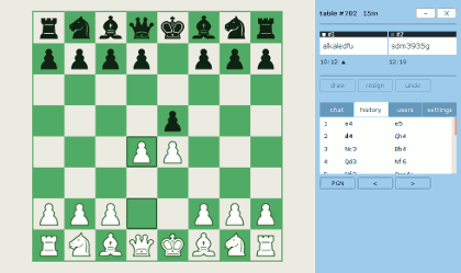 PlayOK - Play Chess Online Free